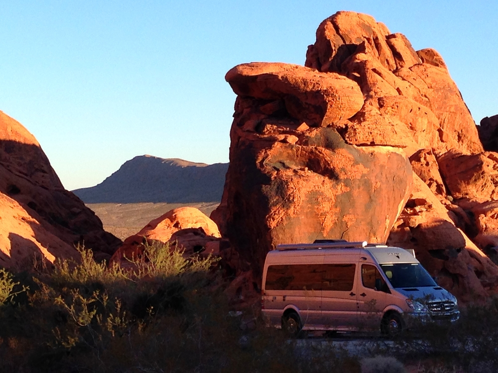 The Valley of Fire...