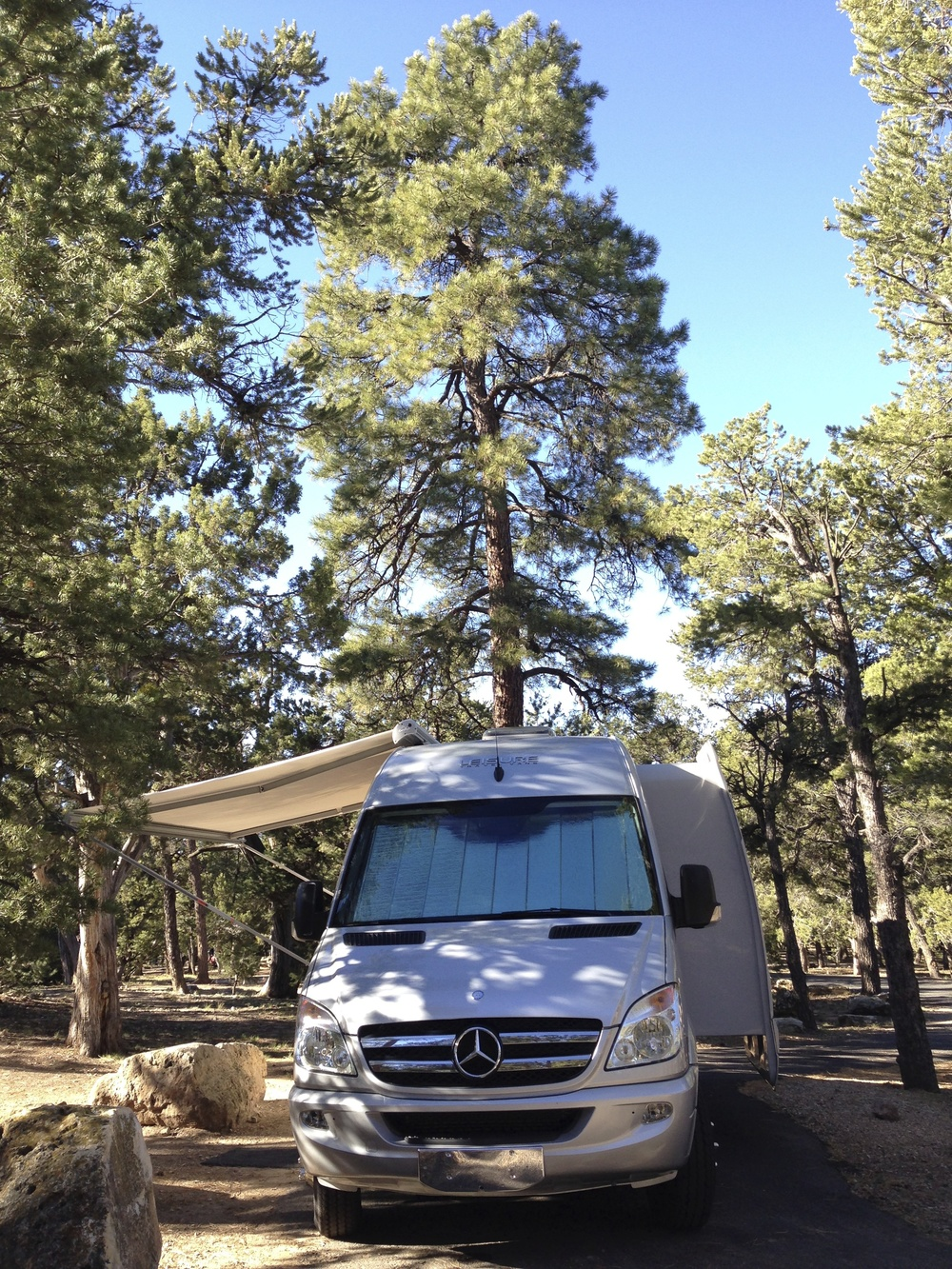 Mather Campground. We'll give you the scoop on the best site - even reserve it for you, if you like.
