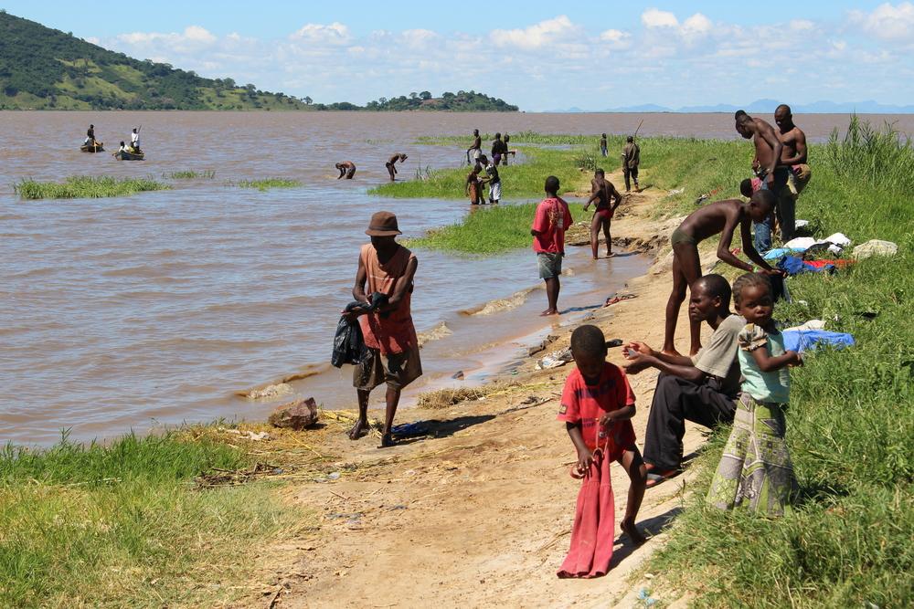 Lake Chilwa, Malawi