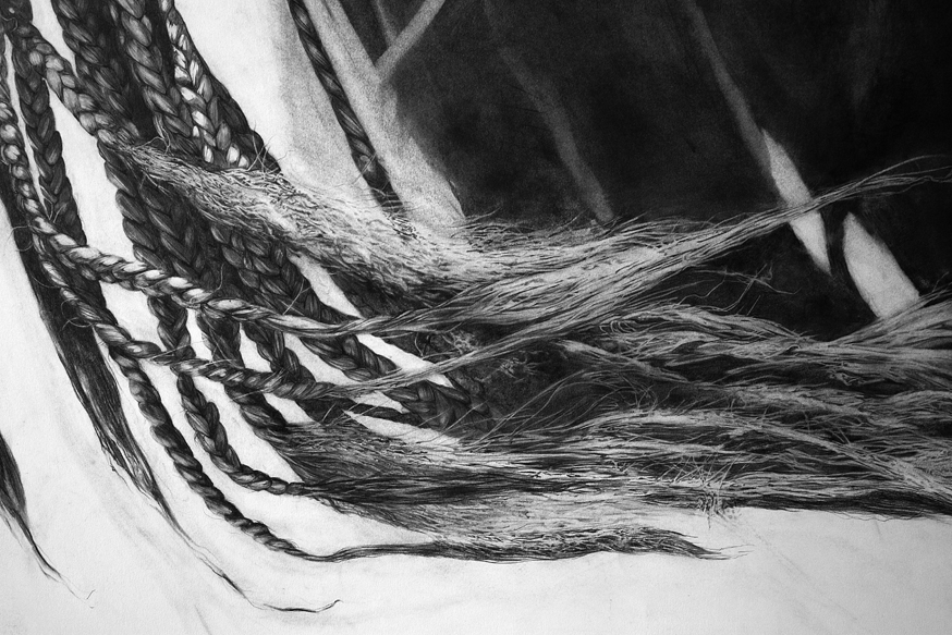 Weave   - Graphite on Paper (Detail)