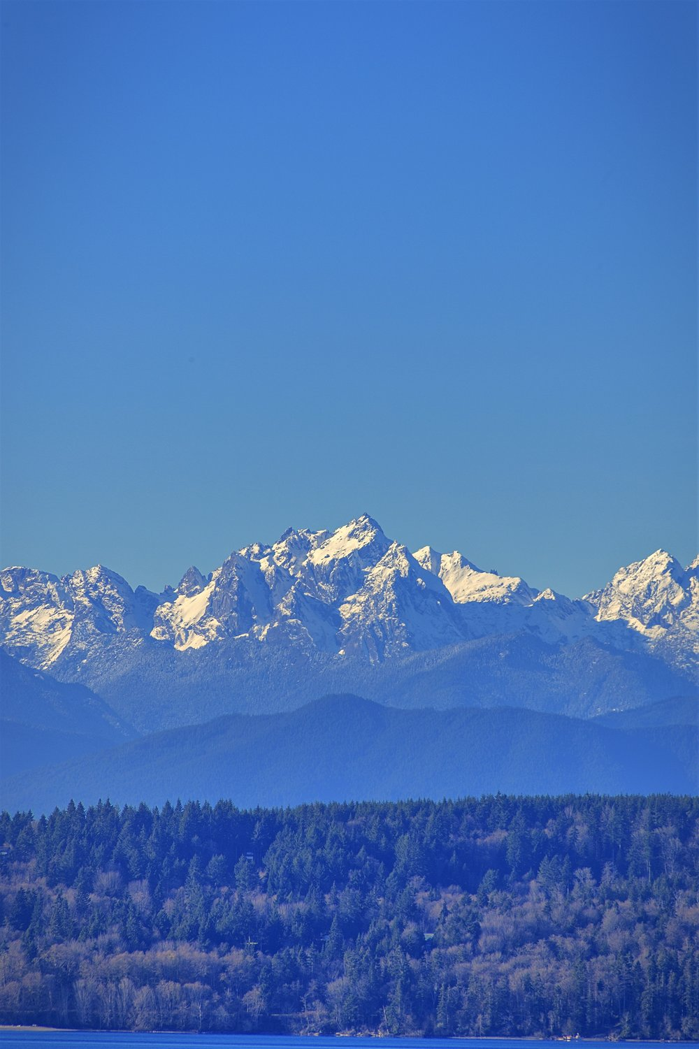 Mt. Constance (Today, from the Hood Canal Bridge, south side)