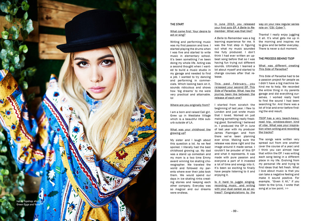 Hayley Kiyoko on the cover of SUSPEND Magazine, ISSUE 05.   Hayley Kiyoko on the cover of SUSPEND Magazine, ISSUE 05.