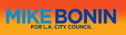 MIKE BONIN LOS ANGELES CITY COUNCIL LOGO