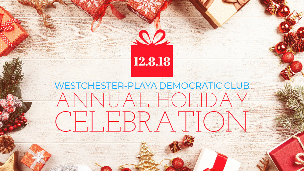 democratic club holiday party
