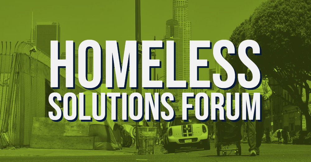 los angeles homeless forum
