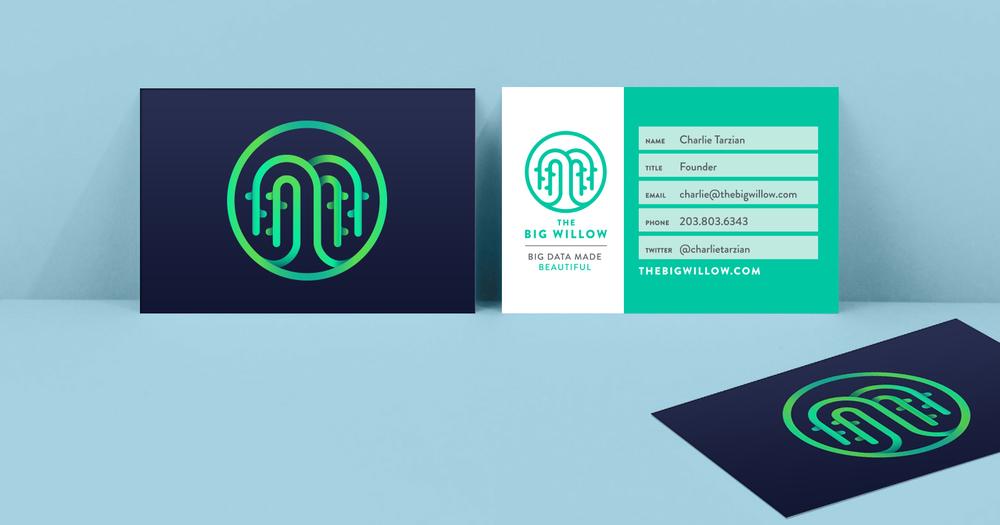 THE BIG WILLOW Logo & Brand Design