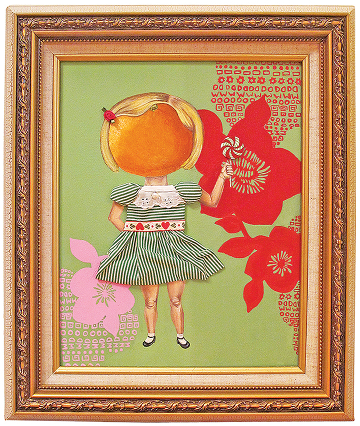 THE CITRUS FAMILY   Acrylic & Mixed Media