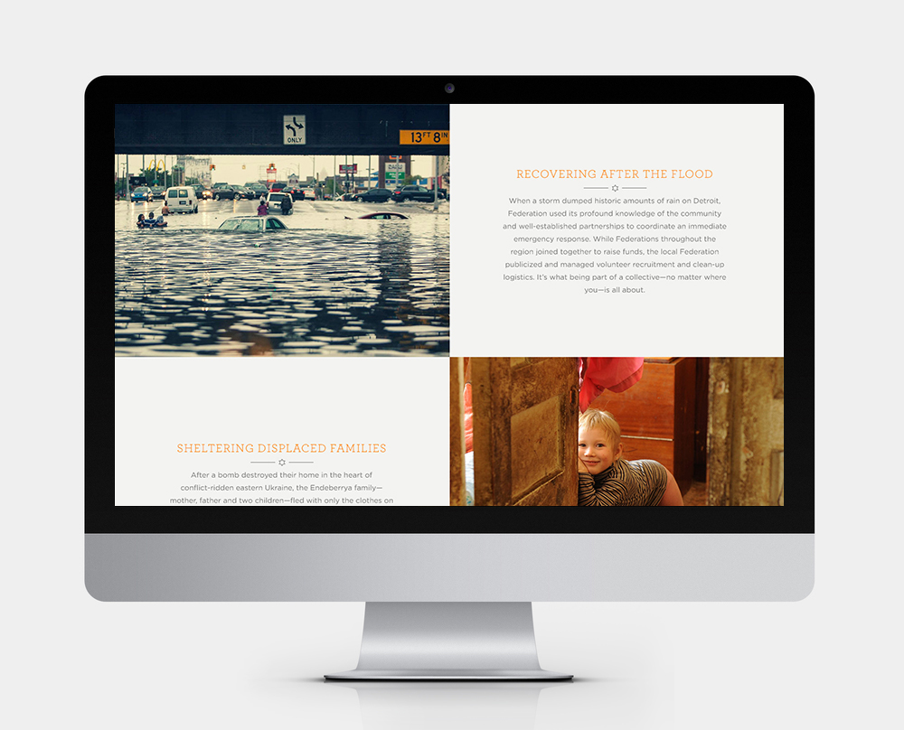 JFNA 2014 ANNUAL REPORT Responsive Web Design