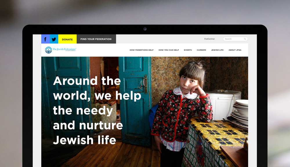 JFNA.ORG   Responsive Web Design