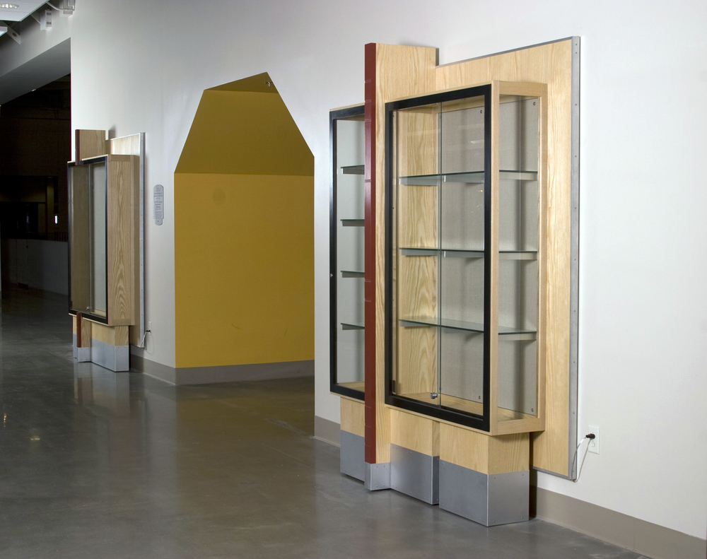Gordon Field House Trophy Cases