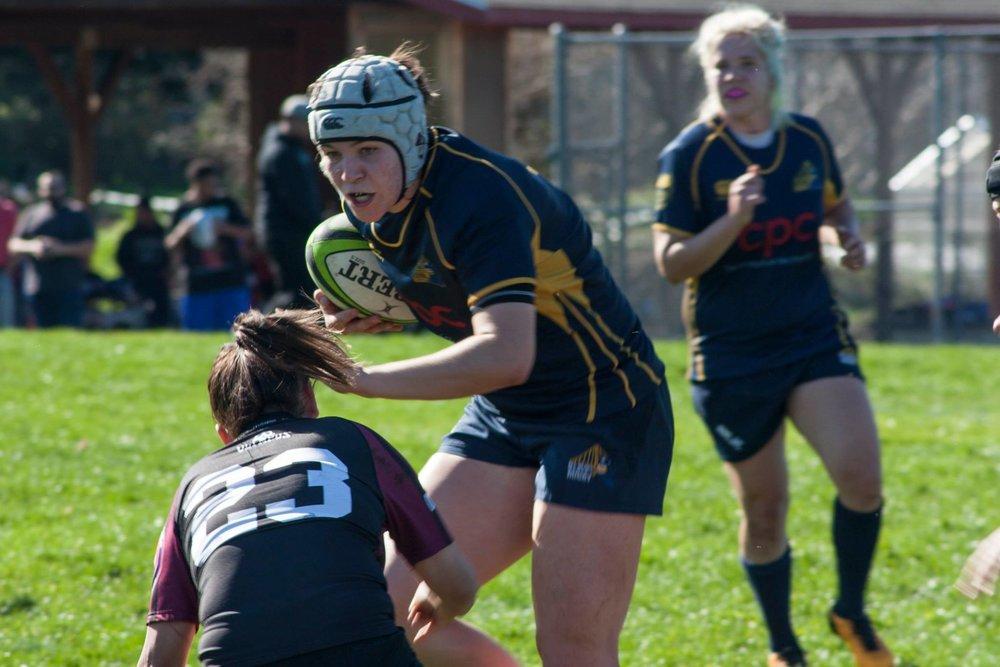 8Foot on the attack at a game vs. Santa Rosa. Photo: Kyra Trowbridge