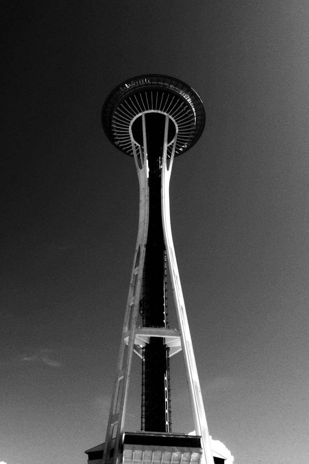 My Grandma and Grandpa took me up the Space Needle when I was really young. It was great to experience it again!