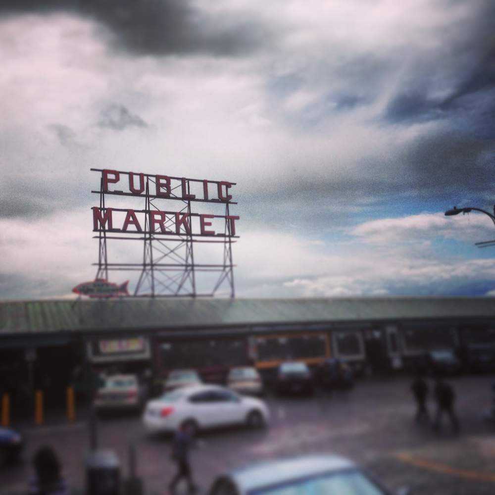 Had to hit up Pike Place Market of course!