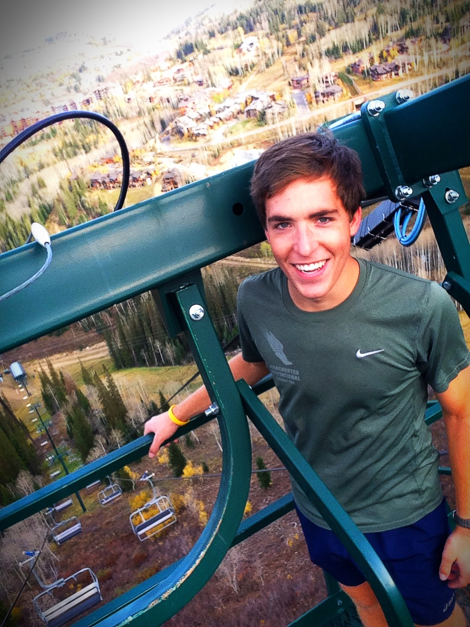 Paddy Caldwell, the newest member of the U.S. Ski Team. Great addition to the crew!