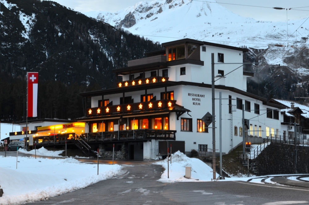 The hotel the U.S. Ski Team always stays at. The owner is a super nice guy and makes sure we feel at home.