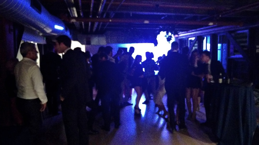 The dancefloor gets busy as the night builds
