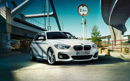 The city-inspired BMW 1 Series sports hatchback
