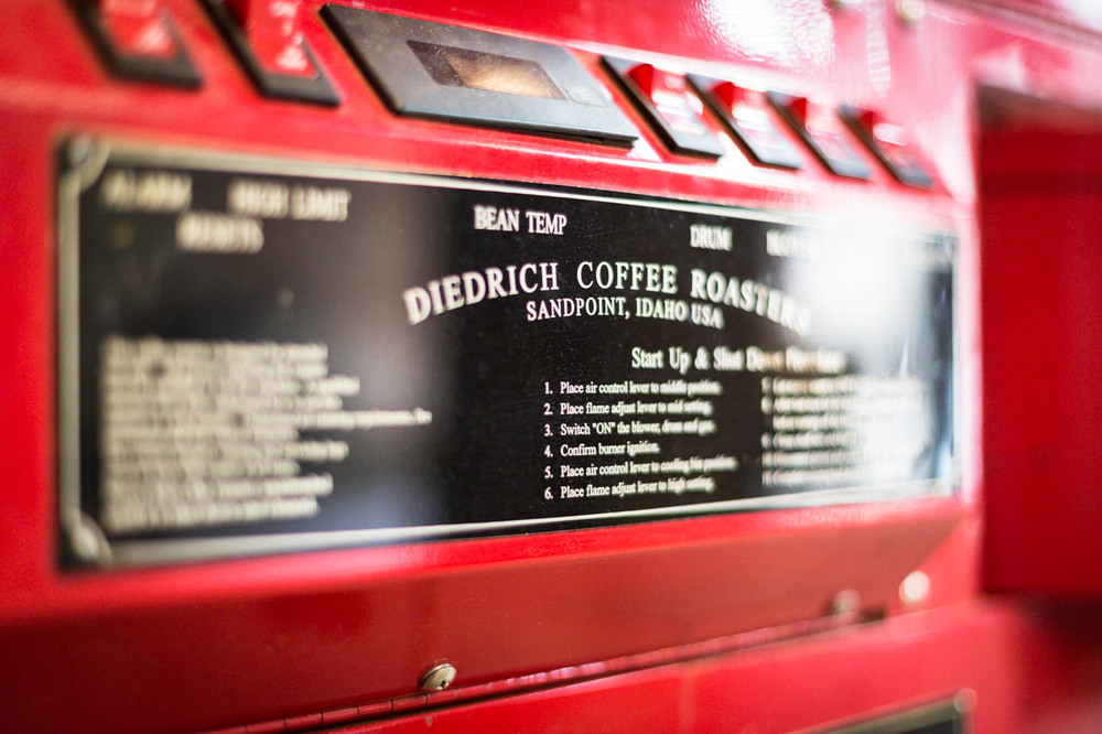 Diedrich Coffee Roasters, Idaho.