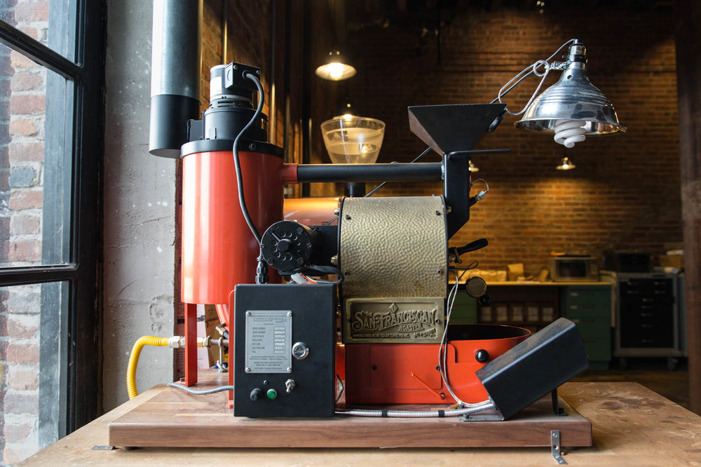 The San Franciscan! A roaster for the left coast.