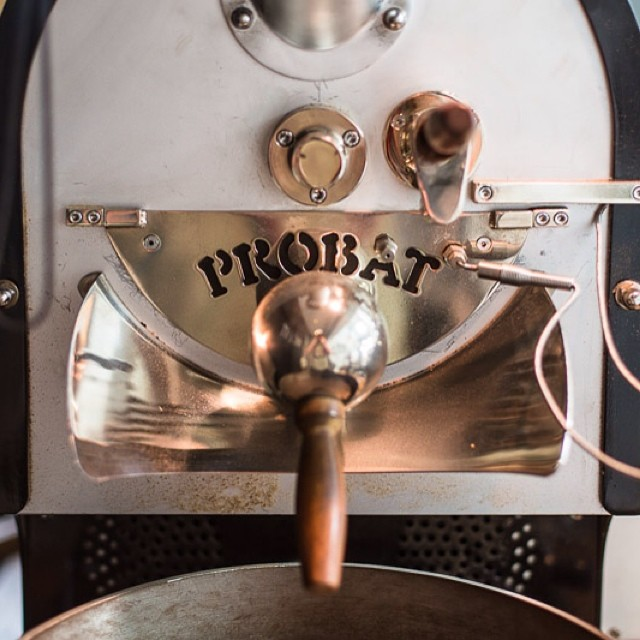 The #probat @frontsf San Francisco, CA 💛