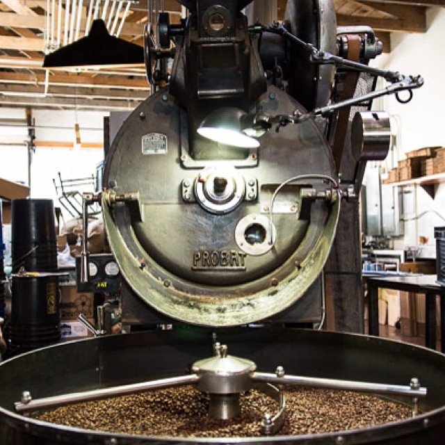The #probat @fourbarrelcoffee San Francisco, CA ❤️