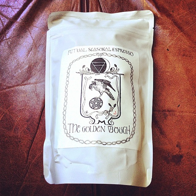 Gorgeous packaging by @ritualcoffee! The Golden Bough - Seasonal Espresso 😍