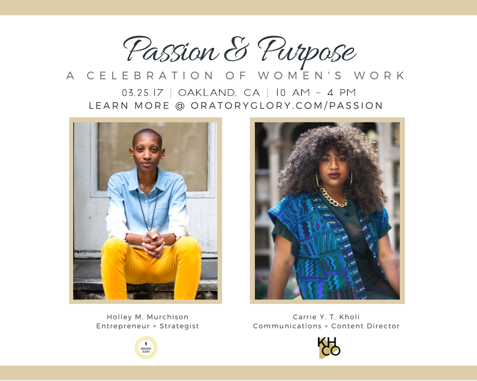 passion and purpose holley murchison carrie kholi