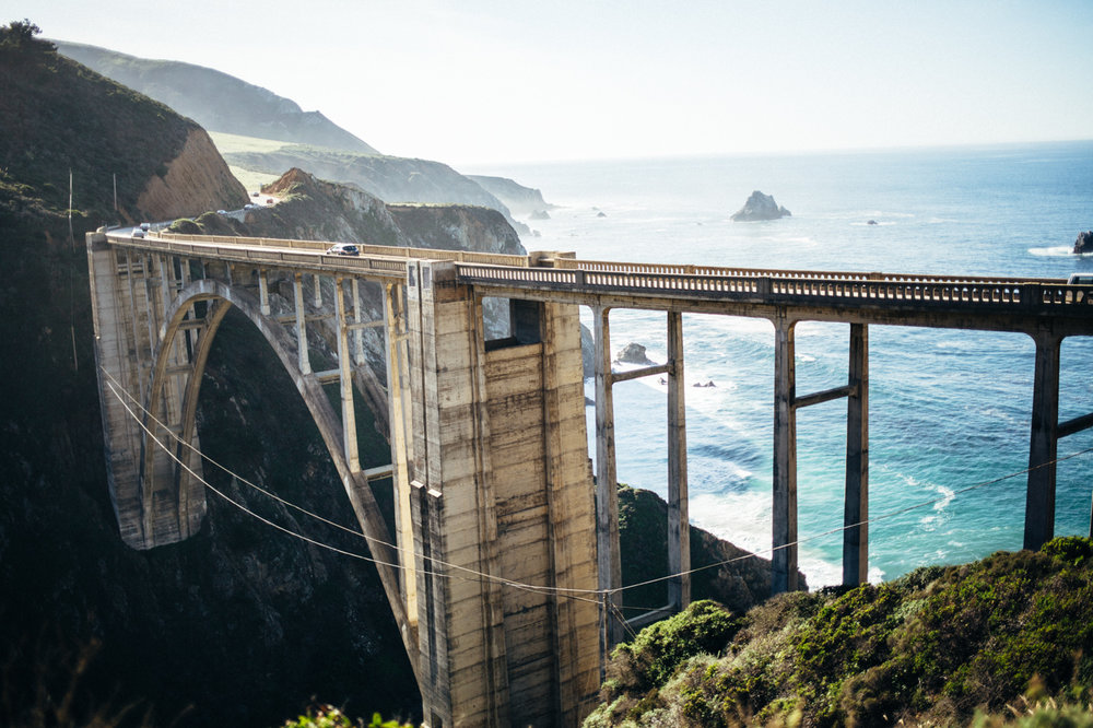 Not to be missed, Bixby Bridge, Big Sur