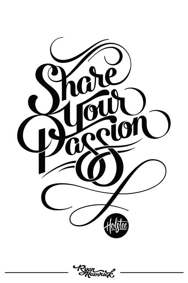 Share Your Passion Ryan Hamrick