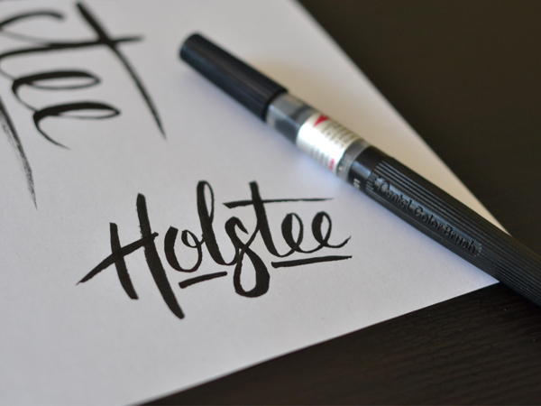Holstee Brush Script