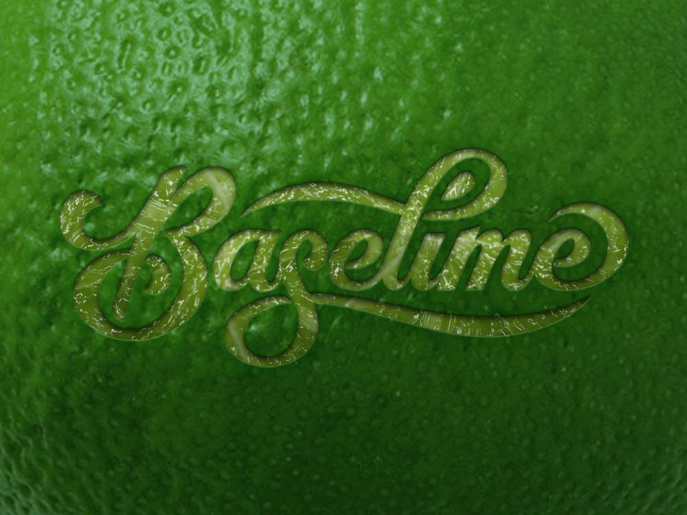 Lime Logo Mockup