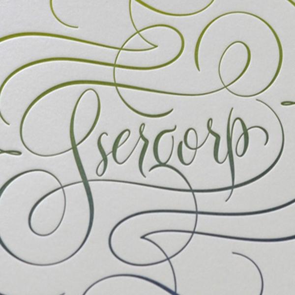 Ssergorp Print