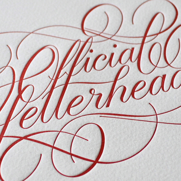 Official Letterhead Print