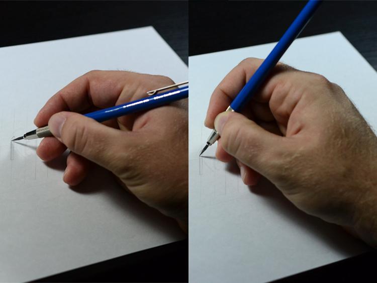 Pencil posture tip