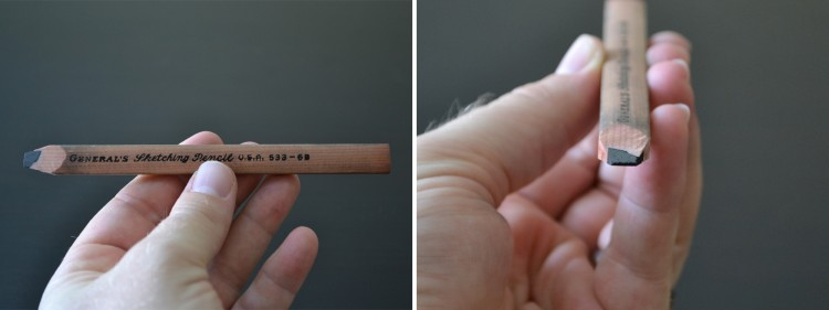 General's Flat Sketching Pencil