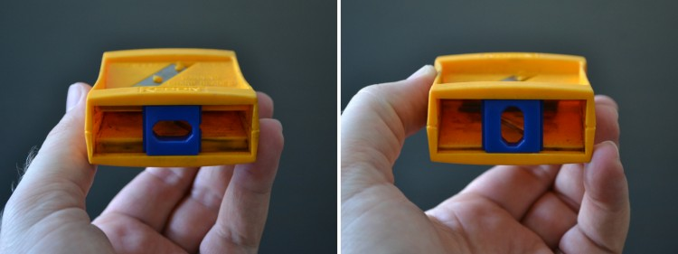 Flat Pencil Sharpener