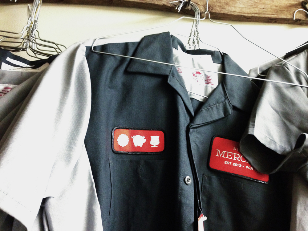 The wonderful chefs' jackets