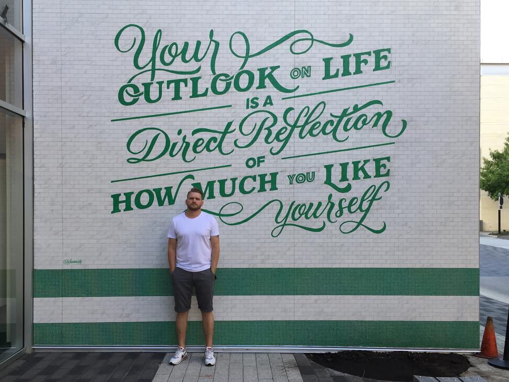 Lululemon Houston Mural