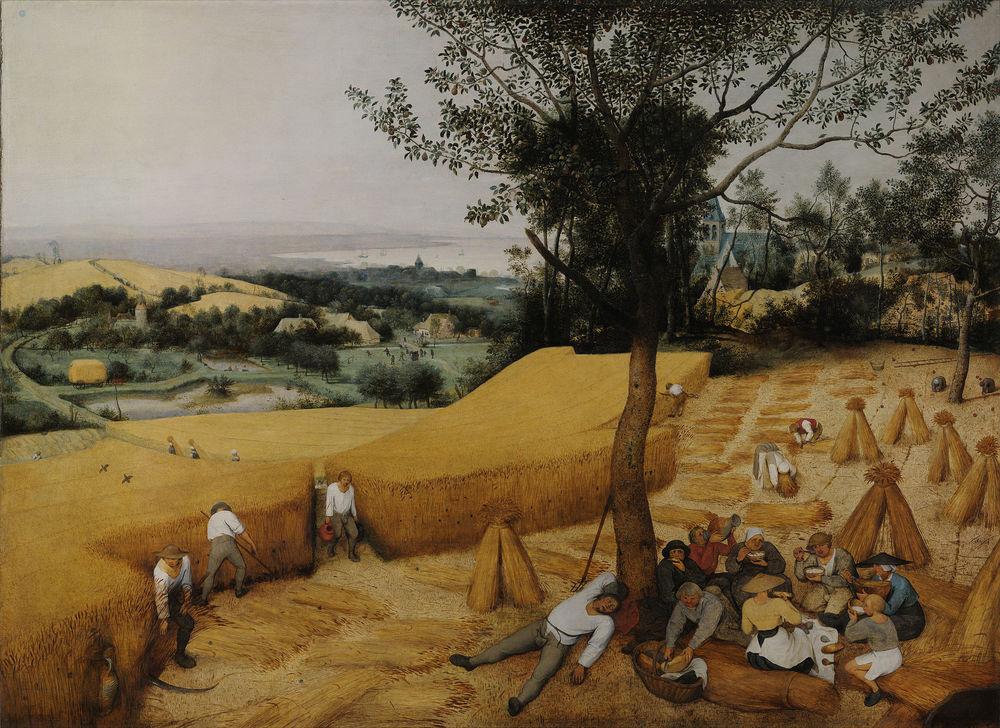 The Harvesters—Pieter Brueghel the Elder