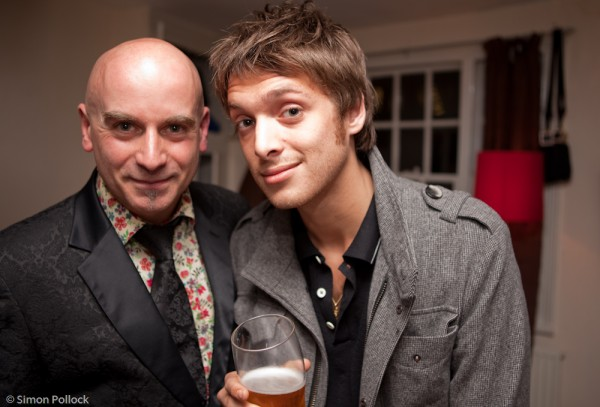 Tony Moore and Paolo Nutini