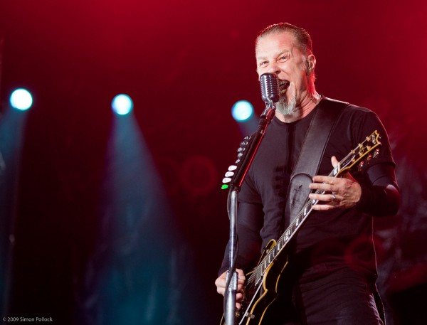 "James Hetfield gives me ""eye time"""