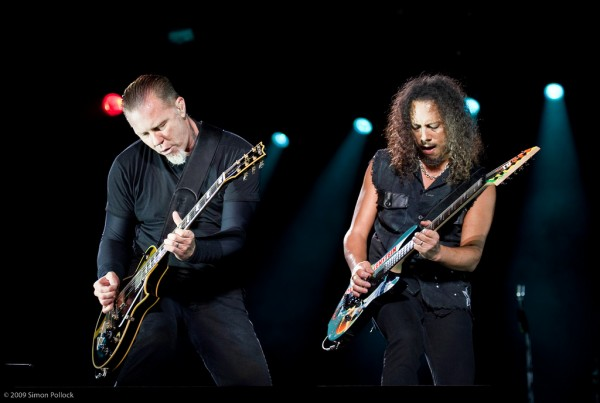 James and Kirk of Metallica
