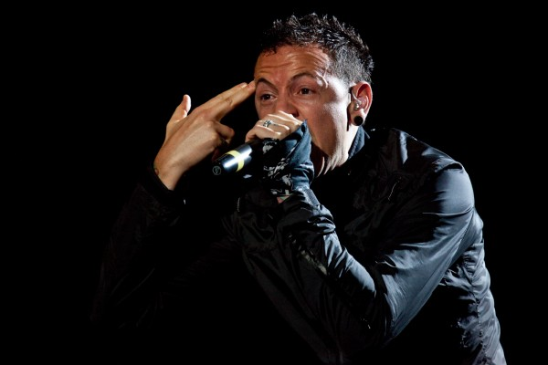 Pull the trigger - Chester Bennington of Linkin Park