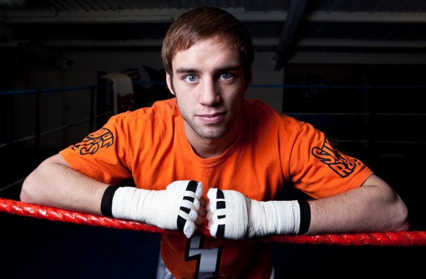 British Flyweight Boxer Ashley Sexton Photograph