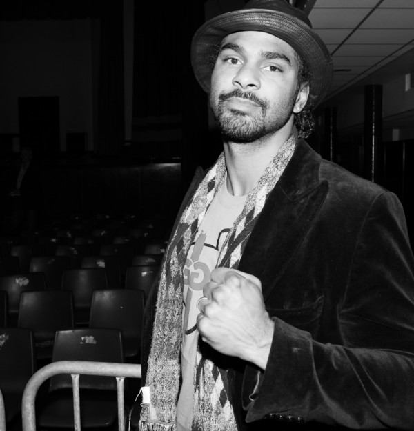 David Haye at York Hall