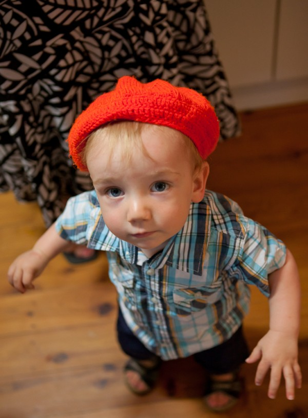 Seb and his Red Hat