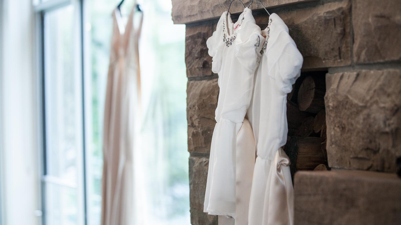 Flower Girl Dress Wedding Dress Thredbo Resort Simon Pollock Wedding Photography