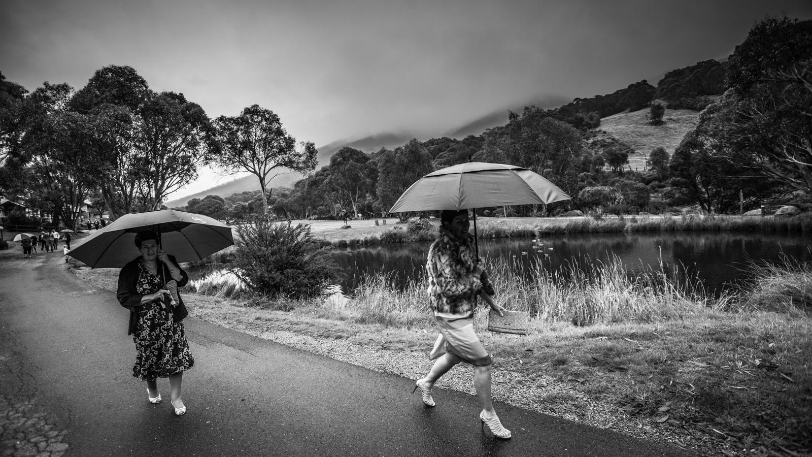 Simon Pollock Photographer Melbourne Umbrella Rain