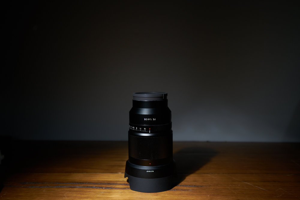 Sony FE 35mm f/1.4 ZA