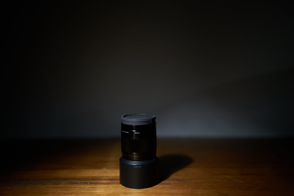 Sony E 50mm f/1.8 APS-C